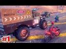 ГОНКИ НА МОТОЦИКЛАХ Road Redemption Симулятор Игры на пк Мультики для мальчиков 1 серия