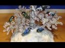 Снегири и синички из ПВА и крахмала Часть 2 3 Птички своими руками Modeling of birds