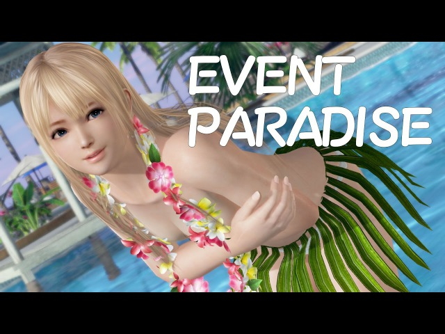 DOAX3 Marie EVENT PARADISE マリー・ローズ、水着:ピクトル、髪型:ロング Pictor