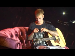 JUSTIN BIEBER - I COULD SING OF YOUR LOVE FOREVER + COLD WATER ♪ PARIS LIVE 2016.09.20 by Nowayfarer