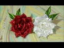 DIY Fabric flower- 3- Rose 🌹🌹🌺