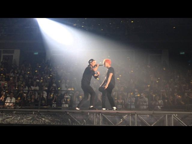 GDRAGON - SEUNGRI rap Bang Bang Bang : BIGBANG WORLD TOUR 'MADE' in BANGKOK 11-07-2015