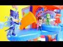 PJMaskeliler oyuncakları! Romeo ve Ay Kızın YENİ YARAMAZLIĞI! Nicole ve sihirli kutu! Eğiticivideo