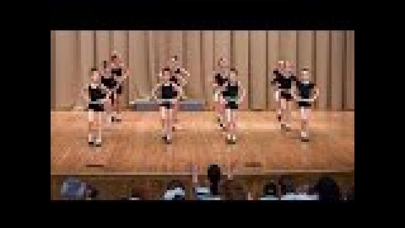 Ритмика на сцене Solar Dance ДШИ Надежда
