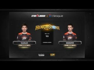 [RU] Naiman vs DrHippi | SL i-League Hearthstone StarSeries Season 3 (13.05.2017)