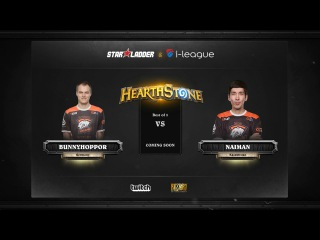 [RU] BunnyHoppor vs Naiman | SL i-League Hearthstone StarSeries Season 3 (13.05.2017)