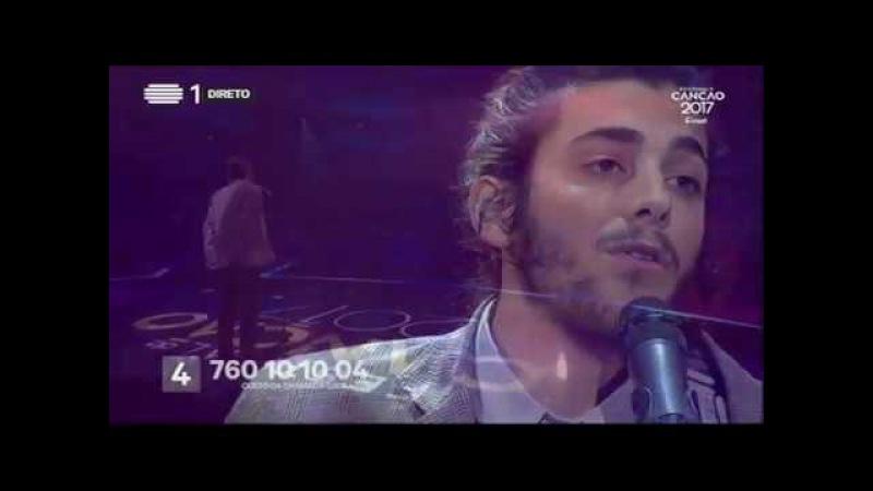 Salvador Sobral - Amar Pelos Dois - Final   Festival da Canção 2017   RTP