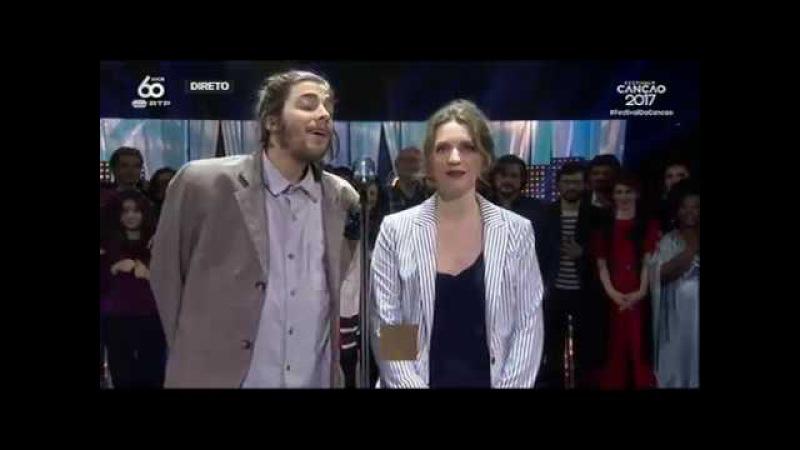 Canção vencedora: Amar Pelos Dois   Festival da Canção 2017   RTP