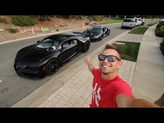 The $3.5Million Bugatti Chiron ft. the Lamborghini Centenario