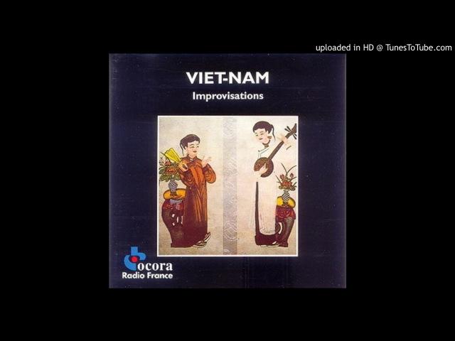 Trân Van Khê - Improvisation Rythmique Au Trong Nhac Le
