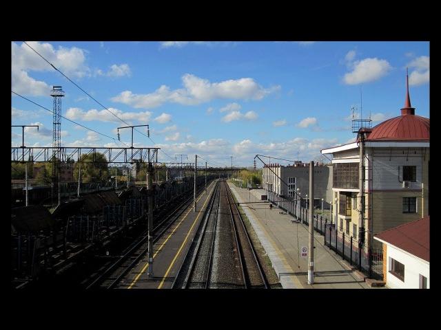 Железнодорожная станция в Навашино. Нижегородская область