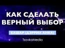 КАК СДЕЛАТЬ ВЕРНЫЙ ВЫБОР ~ Башар (Дэррил Анка) | Озвучка Титры | TsovkaMedia