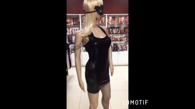 🔥Сексуальное платье c эффектом-wetlook😻