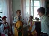 Отрывок из инсценировки сказки С.Т. Аксакова Аленький цветочек читателями Арзамасцевской сельской библиотеки