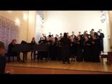 Credo -W. A. Mozart - KV 140 - Missa brevis in G major - дири жирует Полина Калинкина