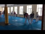 Рома Филатов на тренировке