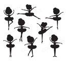 Панно с балеринками