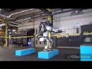Робот Атлас прыгает и делает заднее сальто