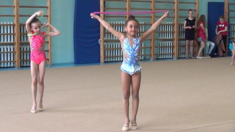 Шихалеева Мелина, Абдулова Даниэла, скакалка ( 2010 г.)