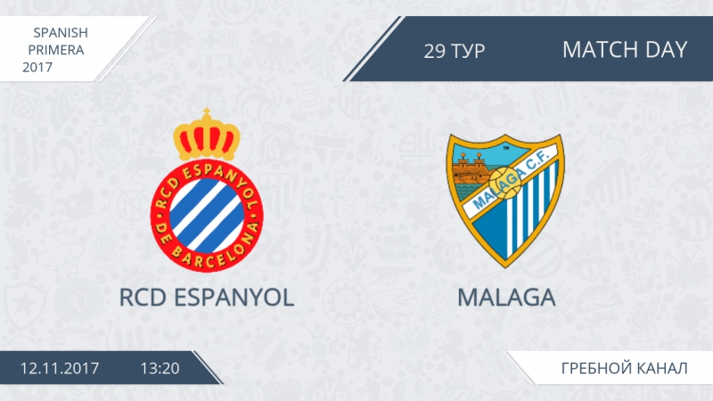 RCD Espanyol 4:10 Malaga, 29 тур