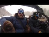 Александр Морозов и Юрий Прилуков в -30 на кабриолете