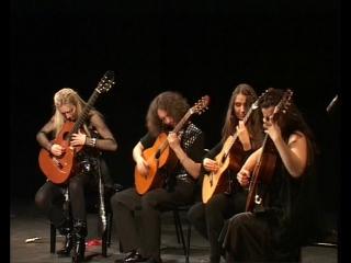 4-tissimo Guitar Quartet-рок-попурри {19-02-10 ТКЗ Дворец на Яузе}