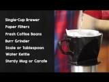 How to Brew Coffee With The Pour Over Method. Roasty Coffee