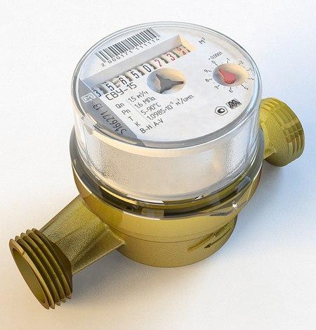 Универсальные счётчики воды СВУ-15 в Петрозаводске (без штуцеров)