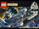 Lego Star Wars 7150. TIE Fighter and Y-wing . 1999
