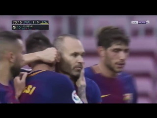 Испания ЛаЛига Барселона - Лас Пальмас 3:0 обзор  HD