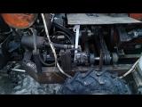 Краткий обзор - трактор погрузчик на гидроприводе.