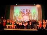 Открытие отчётного концерта МАУ ДК Энергетик 2015 г.