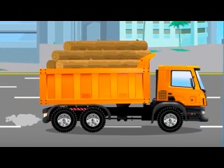Dump truck & The Excavator Ambulance & Tow Truck Cartoons Video for kids World of Cars for children