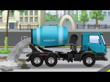 Cars Cartoon Episode for kids - The Blue Cement Mixer Truck - Animation Compilation