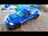 Mega Power Police Car And Tow Truck Cars Cartoon Animation Episode for kids