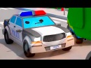 Мультики про Машинки Полицейская Машина Погоня – 3D Мультфильм Сборник для дете ...