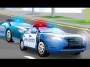 Kinderfilme Die Polizeiwagen Lehrreicher Zeichentrickfilm Autos für Kinder