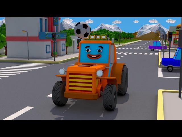 Traktor Bajki Dla Dzieci Niespodzianki po polsku