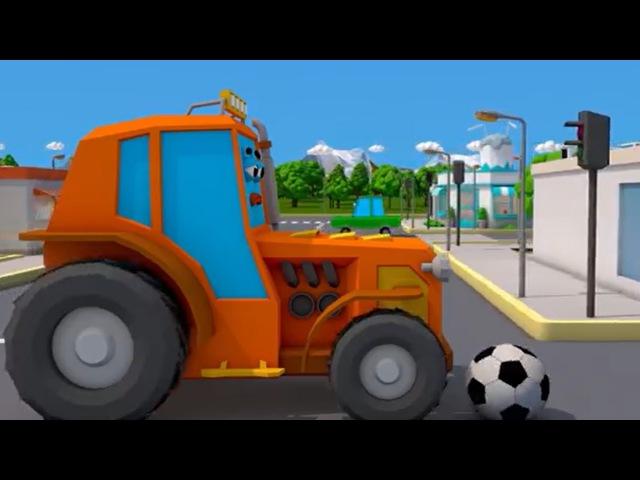 Traktor Bajki Dla Dzieci Traktorki Niespodzianki po polsku