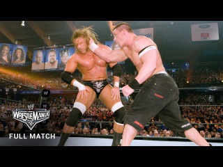 #My1 FULL MATCH  John Cena vs. Triple H - WWE Title Match: WrestleMania 22 (WWE Network Exclusive)