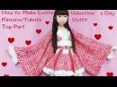 Kawaii DIY-How to Sew A Fancy Lolita Kimono/Yukata Part 1 Top for Special Occasions