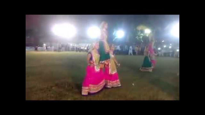 Navratra talwar dance by ladies dauntor 9783546882