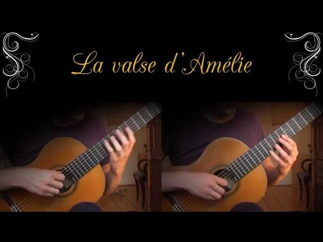 Yann Tiersen - La Valse dAmélie (Acoustic Classical Guitar Cover by Jonas Lefvert)