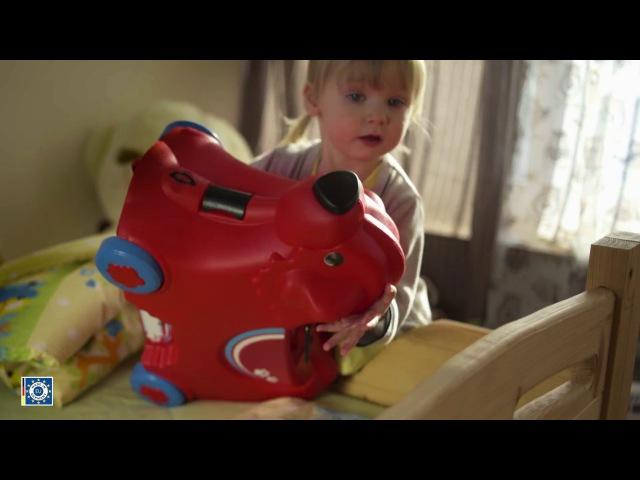 Детский чемодан на колесиках BIG