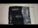 ТРЕНД - ЛАКШЕРИ РВАНЬ | Вяжем модные дырки для рваных свитеров | luxury рвань