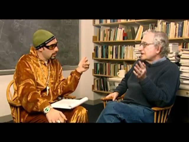Ali G interviews Noam Chomsky - What is language?