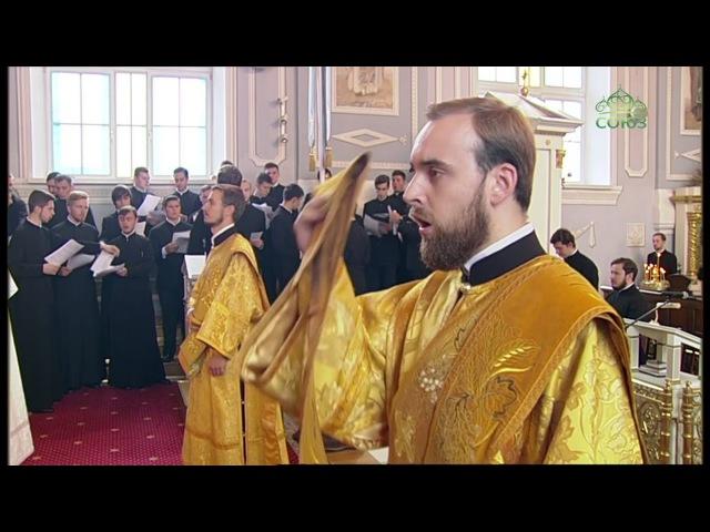 Божественная литургия из храма апостола и евангелиста Иоанна Богослова СПбДА