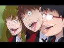 Три красавицы из аниме Безумный азарт - Three beauties from the anime Kakegurui