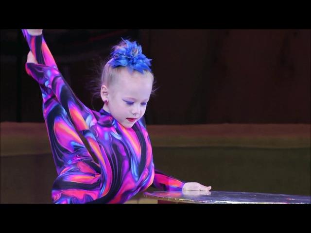 ВАРВАРА - ЛАУРЕАТ ВТОРОЙ СТЕПЕНИ международного циркового конкурса ЗОЛОТОЕ СЕЧЕНИЕ 2017