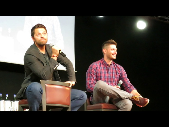 Jensen and Misha Panel, Sunday (JIB8): Part 2